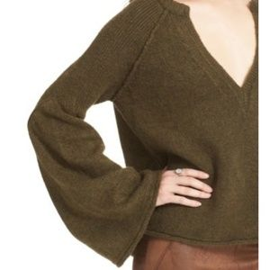 Free People Sweaters - FREE PEOPLE Lovely Lines Bell Sleeve Sweater